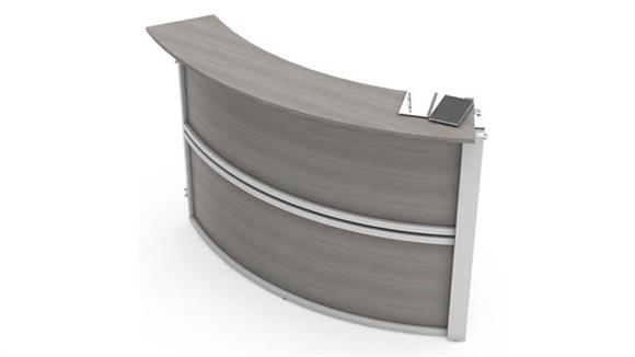 Reception Desks Office Source Reception Single Panel Add-On