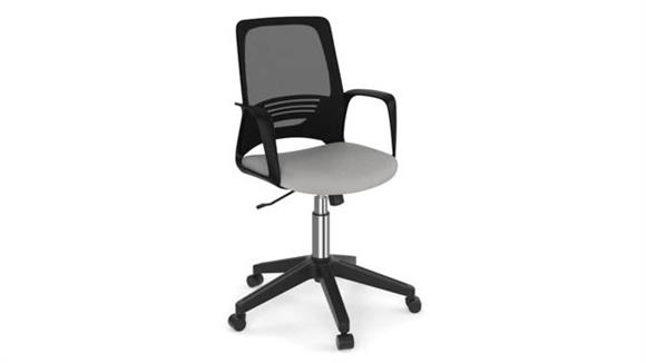 Office Chairs Office Source Mesh Back Task Chair with Black Frame & Base