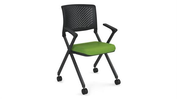 Stacking Chairs Office Source Nesting Chair with Arms