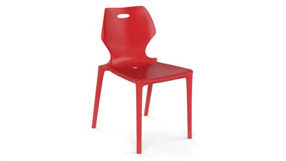 Stacking Chairs Office Source Plastic 4 Leg Stack Chair