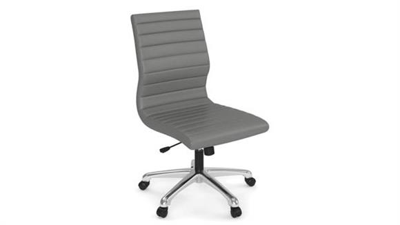 Office Chairs Office Source Armless Executive Mid Back Chair