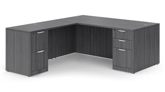 "L Shaped Desks Office Source 72"" x 84"" L Shaped Desk"
