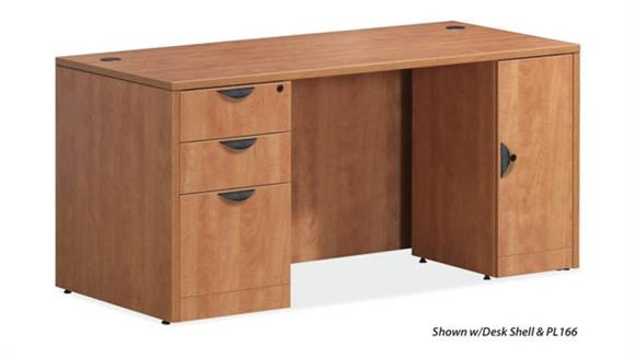 """Executive Desks Office Source 60"""" x 30"""" Double Pedestal Desk"""