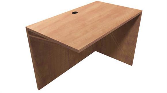 """Desk Parts & Accessories Office Source 35"""" W x 24"""" D Reversible Return"""