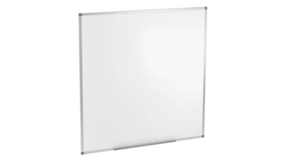 "White Boards & Marker Boards Office Source 47-1/4"" x 47-1/4"" Magnetic White Board"
