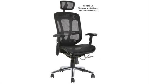 Office Chairs Office Source Mesh Mid Back Task Chair with Headrest