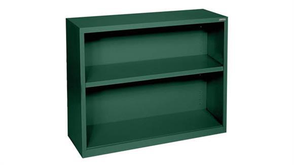 "Bookcases Office Source 35""W x 30""H - 2 Shelf Steel Bookcase"