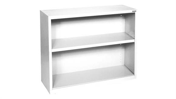 """Bookcases Office Source 35""""W x 30""""H - 2 Shelf Steel Bookcase"""
