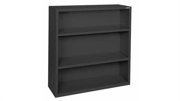 """Bookcases Office Source 35""""W x 42""""H - 3 Shelf Steel Bookcase"""