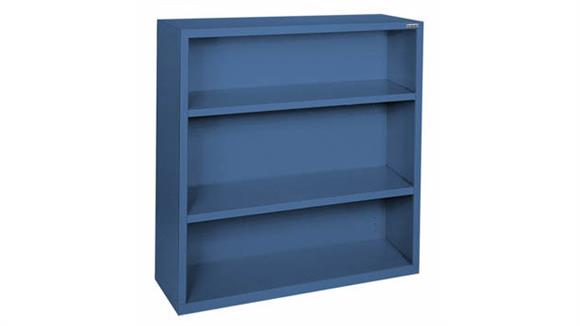 "Bookcases Office Source 35""W x 42""H - 3 Shelf Steel Bookcase"
