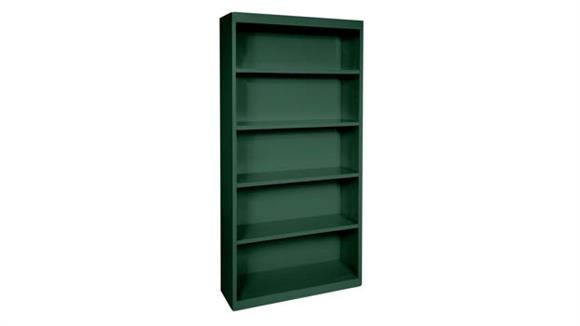 "Bookcases Office Source 35""W x 72""H - 5 Shelf Steel Bookcase"