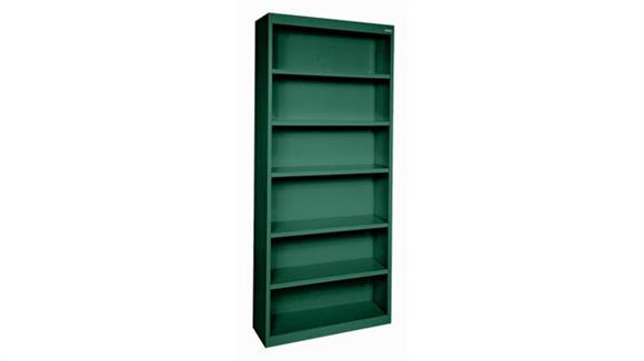 "Bookcases Office Source 35""W x 82""H - 6 Shelf Steel Bookcase"