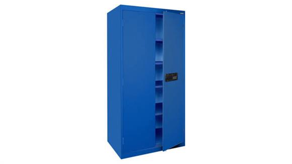 """Storage Cabinets Office Source 36""""W x 24""""D x 72""""H Steel Storage Cabinet with Electronic Lock Keypad"""
