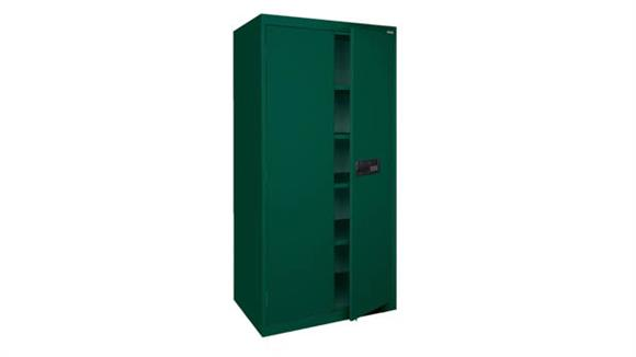 "Storage Cabinets Office Source 36""W x 24""D x 72""H Steel Storage Cabinet with Electronic Lock Keypad"