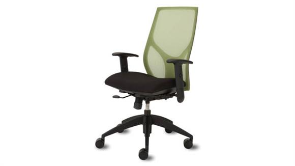 Office Chairs Office Source Mid Back Chair with Black Frame