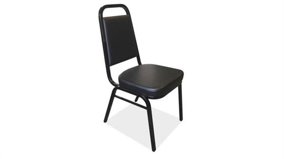 Stacking Chairs Office Source Square Back Stacker Chair