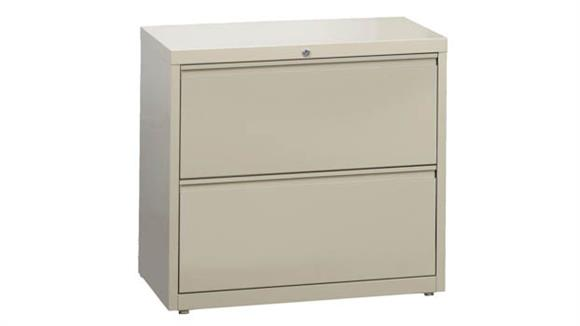 """File Cabinets Office Source 30""""W Two Drawer Lateral File"""