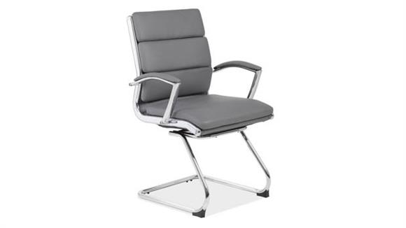 Side & Guest Chairs Office Source Executive Sled Base Guest Chair