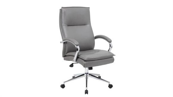 Office Chairs Office Source Executive High Back Chair with Chrome Base