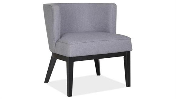 Accent Chairs Office Source Barrel Back Arm Chair