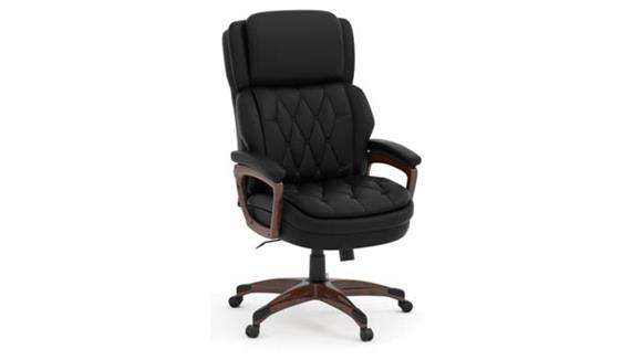Office Chairs Office Source Executive High Back Tufted Chair (Antimicrobial Vinyl)