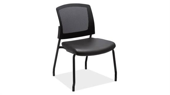 Side & Guest Chairs Office Source Armless Micro Side Chair