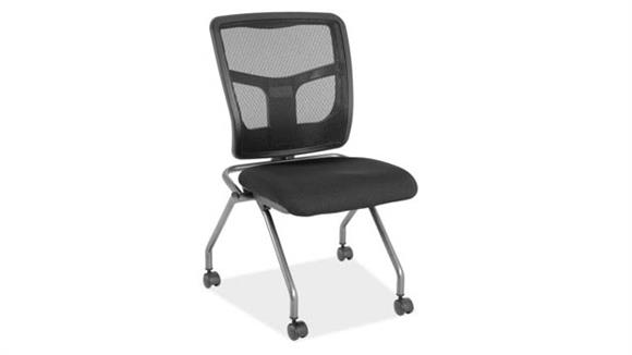 Office Chairs Office Source Armless Cool Mesh Nesting Chair