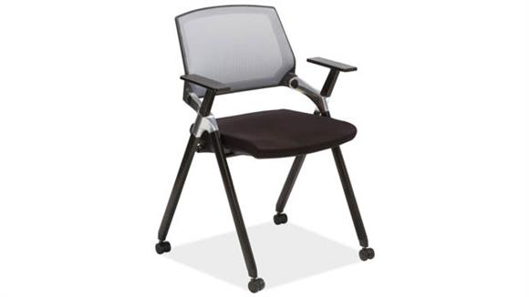 Office Chairs Office Source Flex Back Nesting Chair with Arms