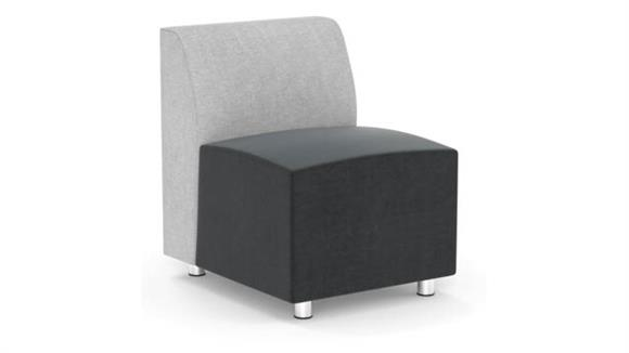 Accent Chairs Office Source Armless Modular Chair