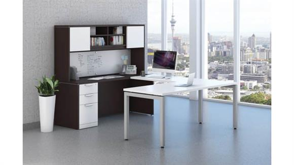 U Shaped Desks Office Source U Shaped Desk Unit