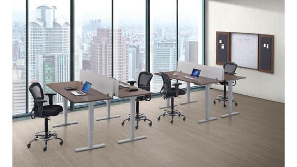 Workstations & Cubicles Office Source 4 Person Standup Workstations