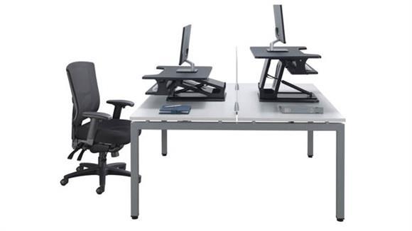 Computer Desks Office Source Double Desk Unit
