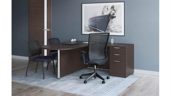 """L Shaped Desks Office Source 72"""" x 72"""" L Shaped Desk Unit"""