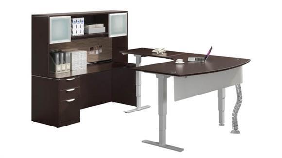 Adjustable Height Desks & Tables Office Source Standup Desk Set