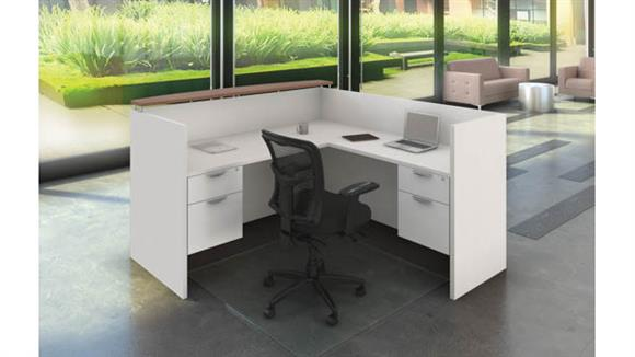 Reception Desks Office Source L Shaped Reception Desk Unit