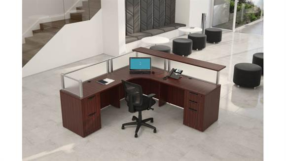 Reception Desks Office Source Borders ll Reception Desk Unit