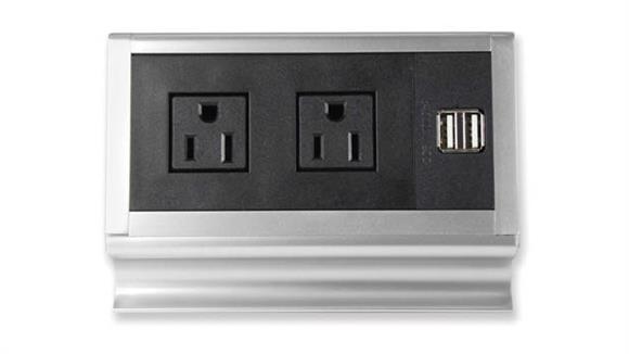Desk Parts & Accessories Office Source Surface Mount Power
