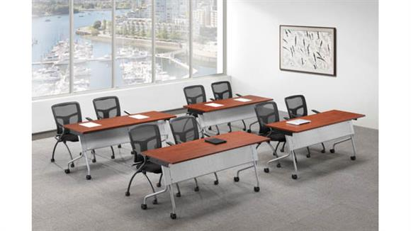 "Training Tables Office Source Training Tables 48"" x 24"" (4)"