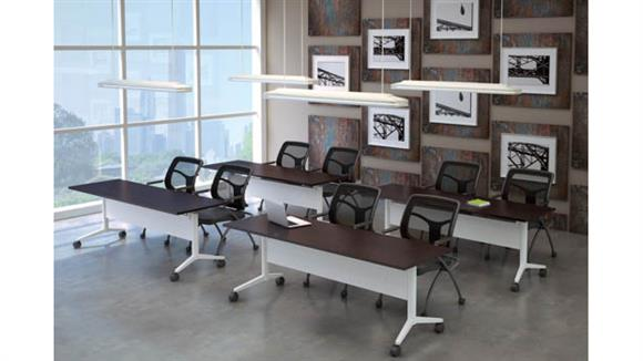 "Training Tables Office Source Training Tables 60"" x 30"" (4)"