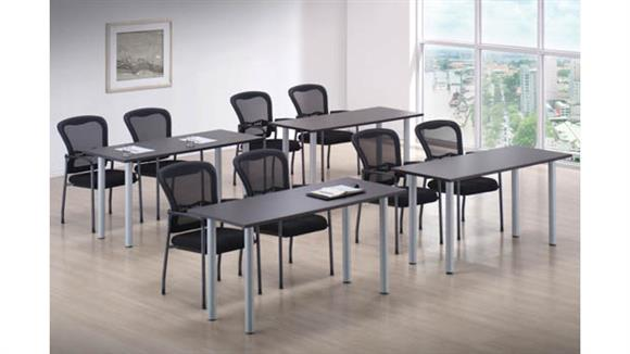 "Training Tables Office Source Training Tables 72"" x 30"" (4)"
