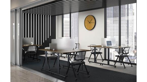 """Training Tables Office Source 48""""W Training Tables (8)"""