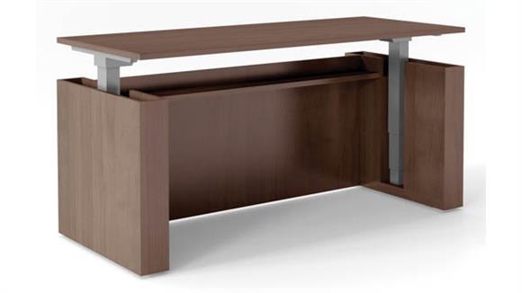 "Executive Desks Office Source 72"" x 30"" Height Adjustable Desk"