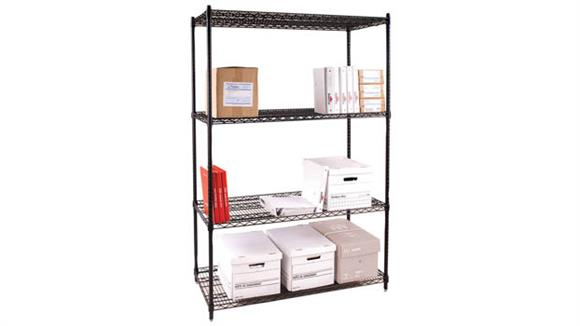 Garage Cabinets & Organizers Office Source Wire Shelving Unit