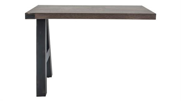 "Desk Parts & Accessories Office Source 42"" x 24"" Industrial Return"