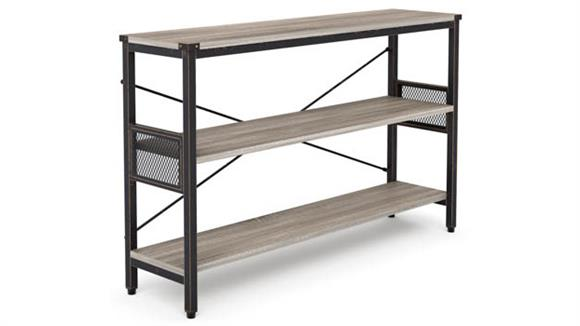 """Office Credenzas Office Source 48"""" X 12"""" Light Industrial Metal Framed Credenza"""