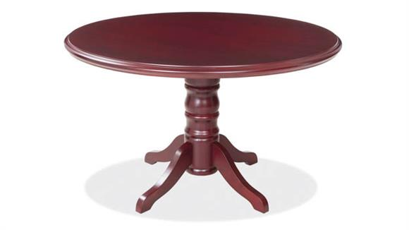 "Conference Tables Office Source 48"" Round Veneer Conference Table"