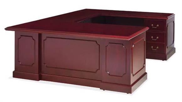 U Shaped Desks Office Source Wood Veneer U Shaped Desk