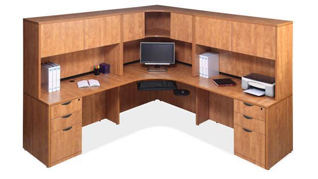 Corner Desk Unit By Office Source