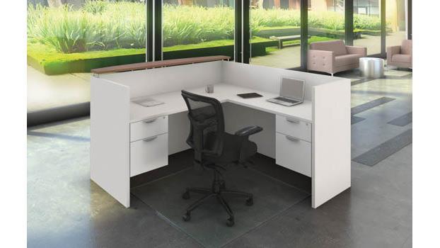 new arrival 30d67 2c1c5 L Shaped Reception Desk Unit by Office Source