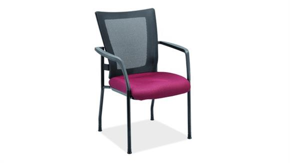 Stacking Chairs Office Source Furniture Mesh Back Stacking Chair